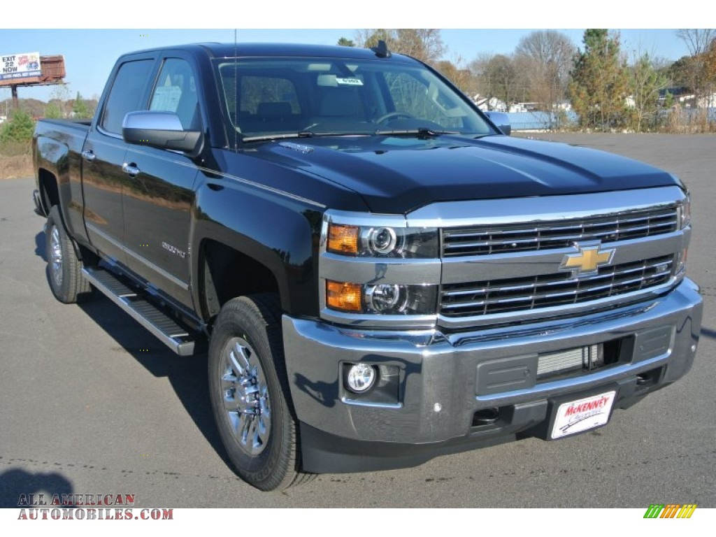 2015 chevrolet silverado 2500hd ltz crew cab 4x4 in black 527645 all american automobiles. Black Bedroom Furniture Sets. Home Design Ideas