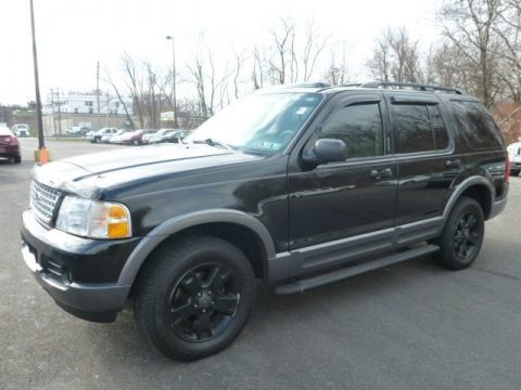 Black 2003 Ford Explorer XLT 4x4