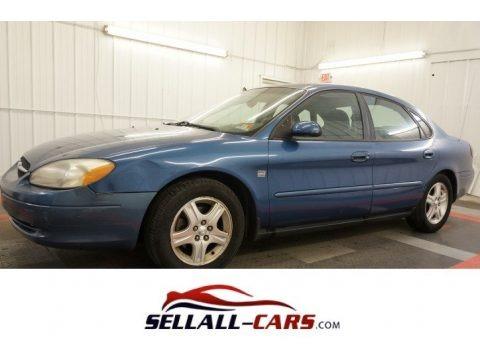 Blue Metallic 2002 Ford Taurus SEL