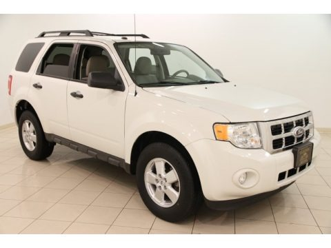 White Suede 2010 Ford Escape XLT