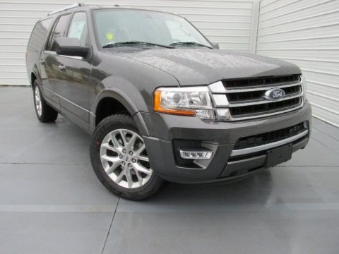 Magnetic Metallic 2015 Ford Expedition EL Limited