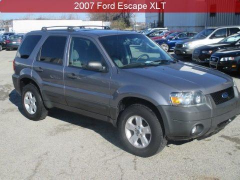 Tungsten Grey Metallic 2007 Ford Escape XLT V6