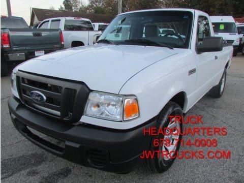 Oxford White 2011 Ford Ranger XL Regular Cab
