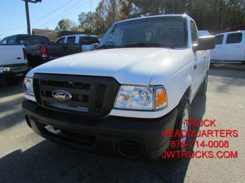 Oxford White 2010 Ford Ranger XL Regular Cab
