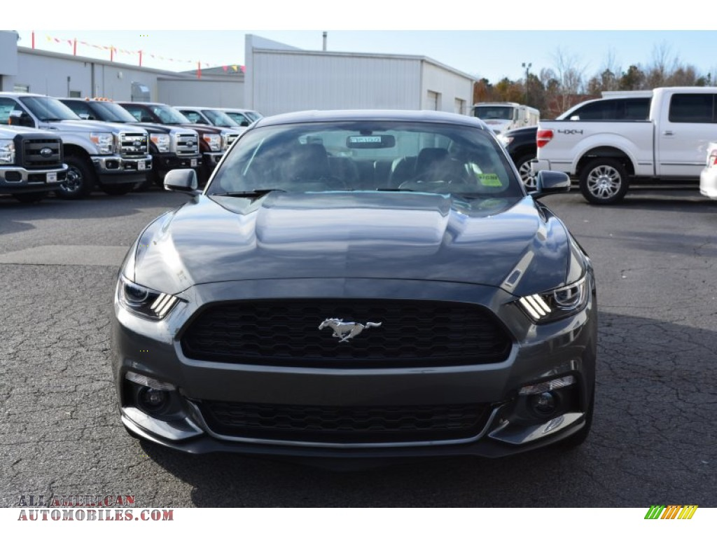 2015 ford mustang ecoboost premium coupe in magnetic metallic photo 4 324723 all american. Black Bedroom Furniture Sets. Home Design Ideas