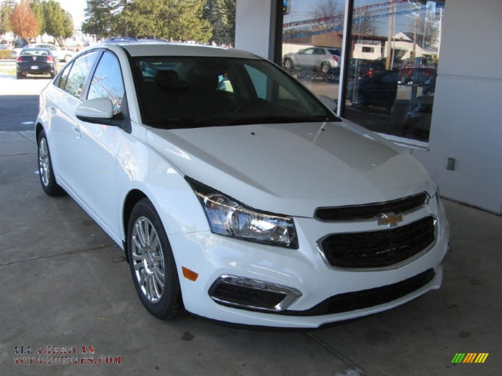 2015 chevrolet cruze eco in summit white 127394 all american automobiles buy american cars. Black Bedroom Furniture Sets. Home Design Ideas