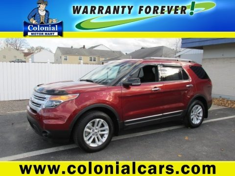 Sunset 2014 Ford Explorer XLT 4WD