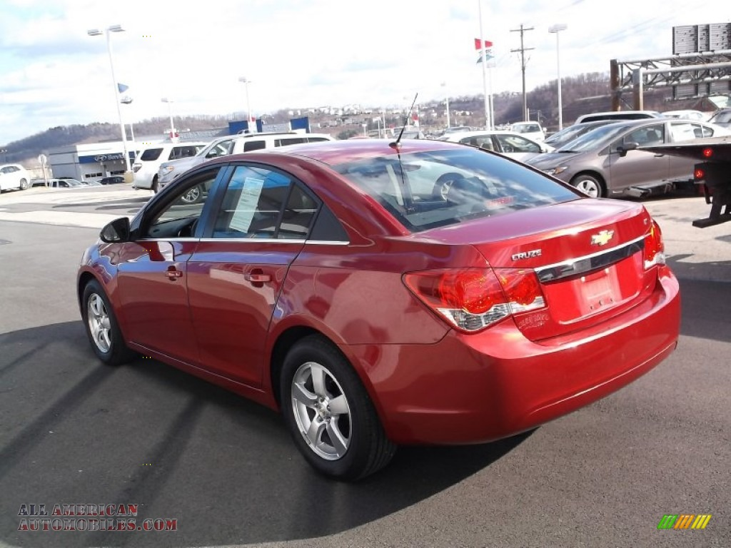 2012 chevrolet cruze lt in crystal red metallic photo 6 100537 all american automobiles. Black Bedroom Furniture Sets. Home Design Ideas