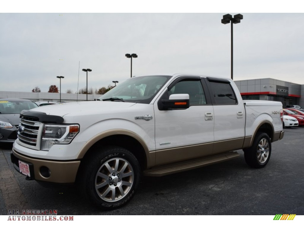 2013 ford f150 king ranch supercrew 4x4 in oxford white photo 7 f34979 all american. Black Bedroom Furniture Sets. Home Design Ideas