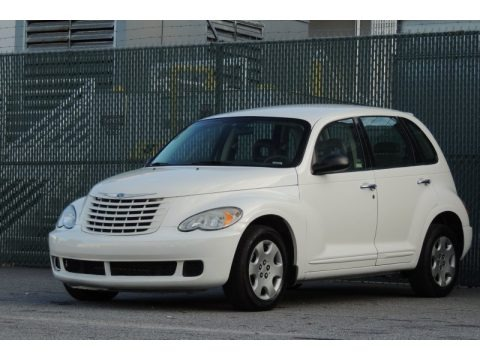 Stone White 2009 Chrysler PT Cruiser LX