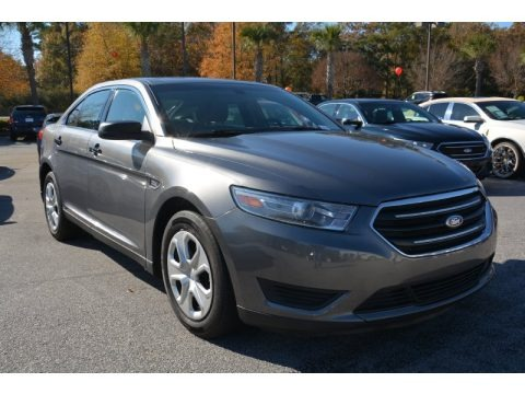 Sterling Gray 2014 Ford Taurus Police Special SVC