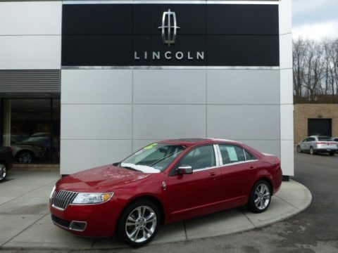 Red Candy Metallic 2012 Lincoln MKZ AWD