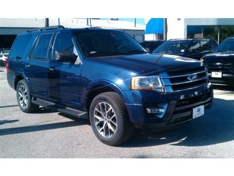 Blue Jeans Metallic 2015 Ford Expedition XLT