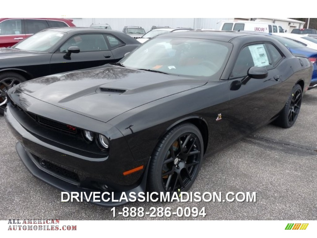 2015 dodge challenger r t scat pack in phantom black tri coat pearl 714332 all american. Black Bedroom Furniture Sets. Home Design Ideas