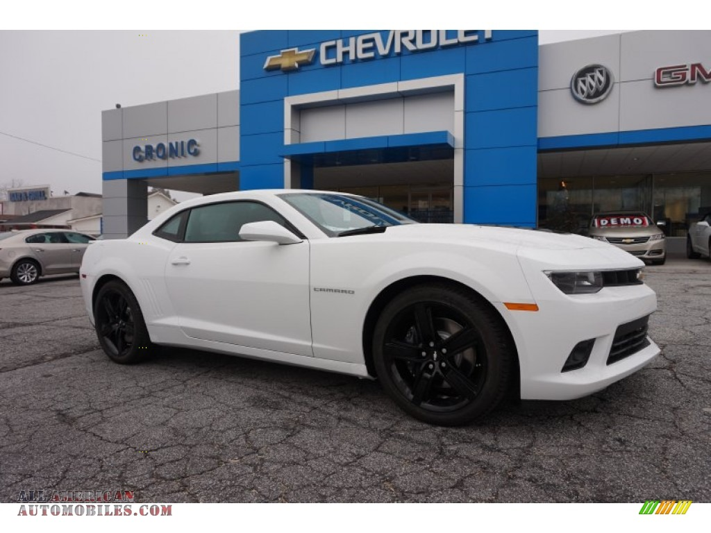 2015 Chevrolet Camaro Ss Coupe In Summit White For Sale