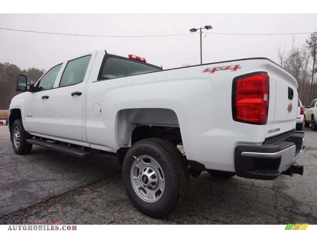 2015 chevrolet silverado 2500hd wt crew cab 4x4 in summit white photo 4 539260 all american. Black Bedroom Furniture Sets. Home Design Ideas