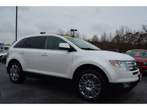 White Suede 2010 Ford Edge Limited