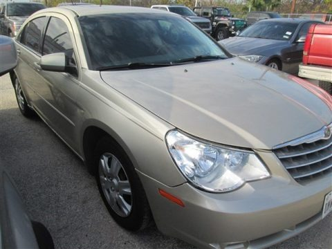 White Gold 2010 Chrysler Sebring Limited Sedan