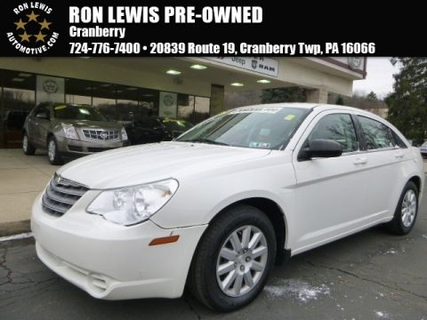 Stone White 2009 Chrysler Sebring LX Sedan