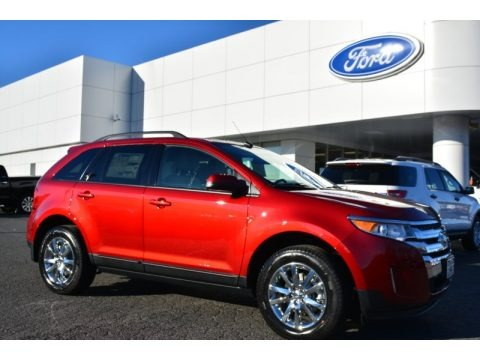 Ruby Red 2014 Ford Edge SEL