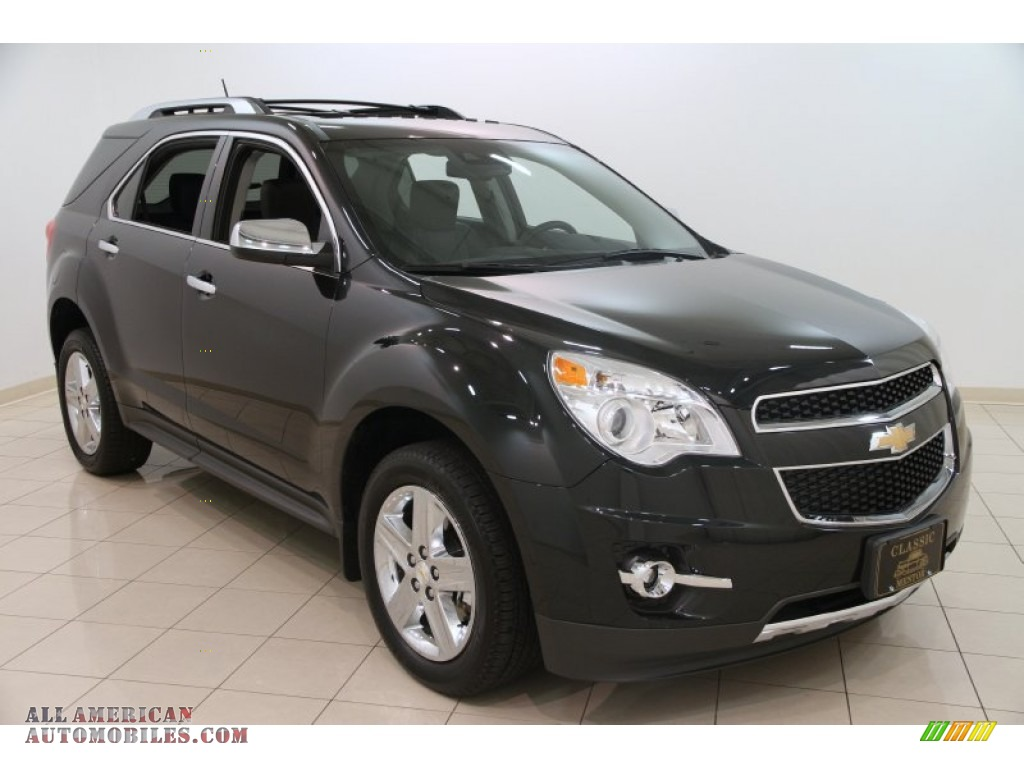2015 Chevrolet Equinox LTZ in Black Granite Metallic ...