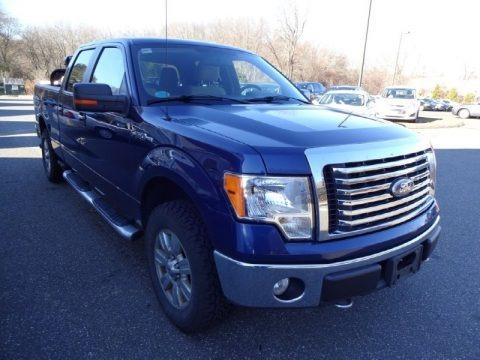 Dark Blue Pearl Metallic 2010 Ford F150 XLT SuperCrew 4x4