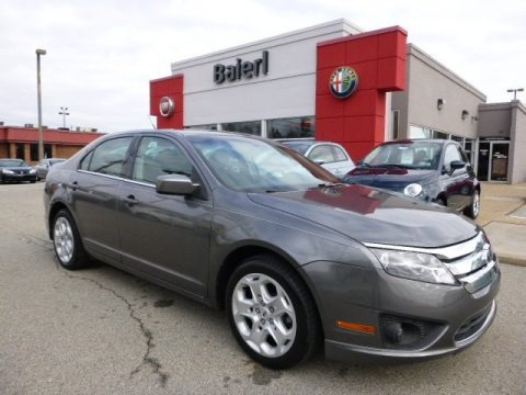 Sterling Grey Metallic 2010 Ford Fusion SE