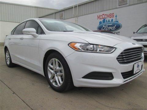 Oxford White 2015 Ford Fusion SE