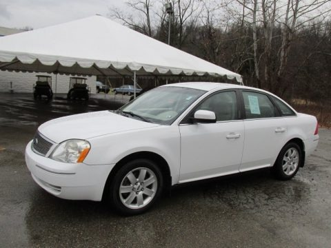 Oxford White 2007 Ford Five Hundred SEL AWD